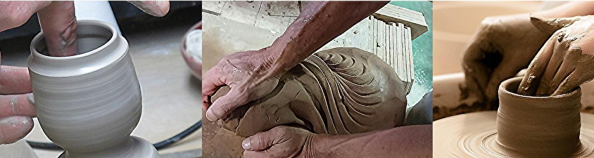 信楽焼の手元供養 こころの杖 骨壺