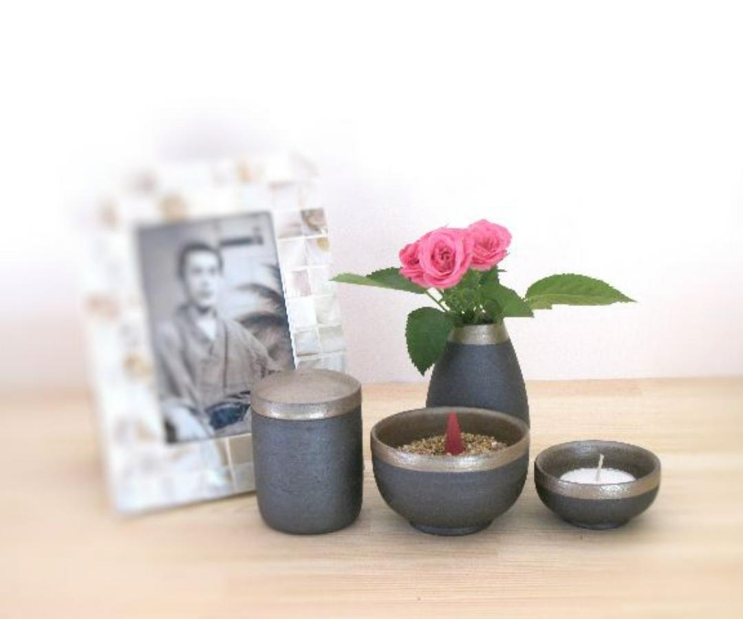 手元供養の専門店 ミニ骨壺セット INORI
