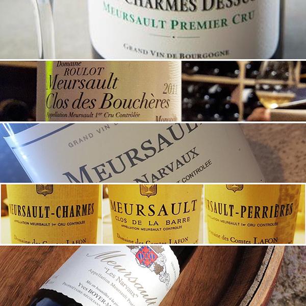 Les vins de Meursault