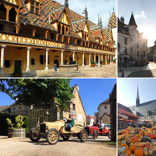 Beaune, Hopices et monuments