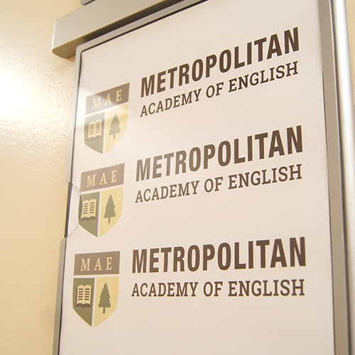 Metropolitan Academy of English ロゴマーク