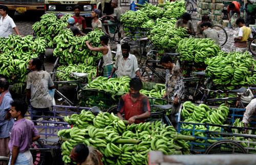 Bananen-Markt in Brasilien