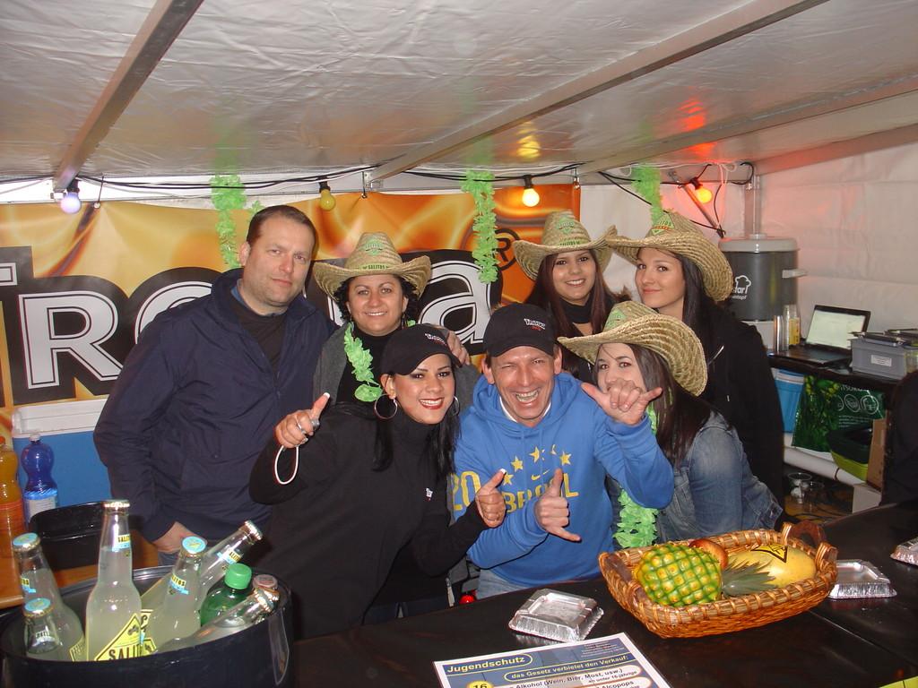 Reto, Filo, Laura, Andy, Tatiana, Anna & Jessica