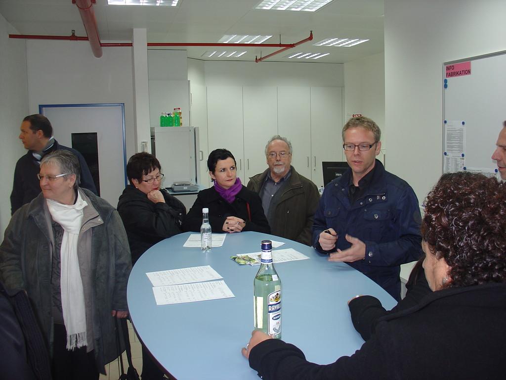 im Labor der DIWISA