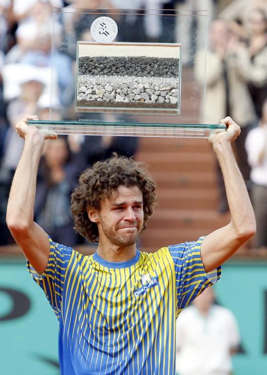 Tennis-Spieler Gustvao 'Guga' Kürten