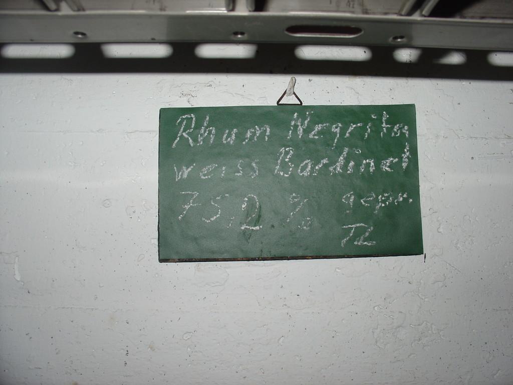 Rhum Negrita - Bestandteil der Piña Colada