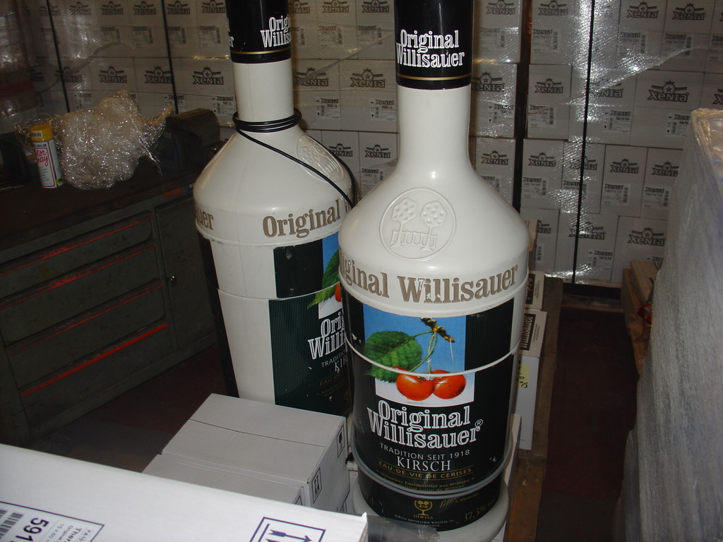100 Liter ORIGINAL Willisauer Flaschen