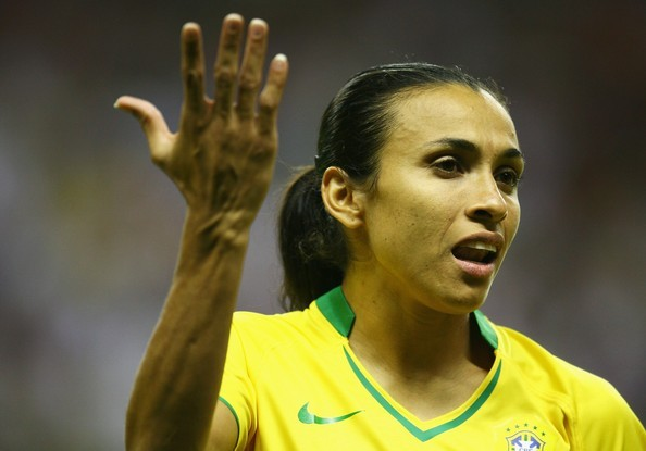 Fussballspielerin Marta Viera Da Silva