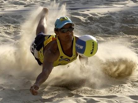 Beach Volleyballer Emanuel Rego