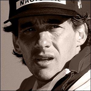 Formel 1 Fahrer Ayrton Senna