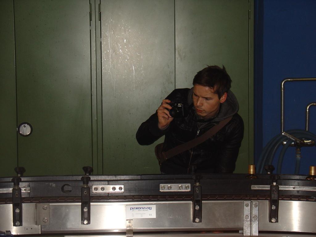Dani Stocker von der ONZ bei der Arbeit