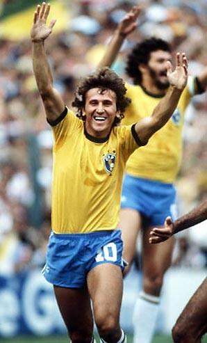 "Fussballspieler & Trainer ""Zico"" Arthur Antunes Coimbra"