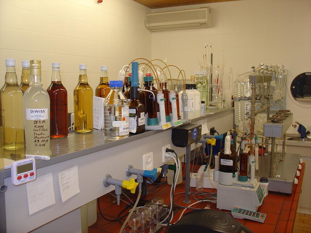 Destillate im 'Prüfstand'