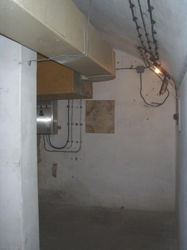 impianto d'aerazione, deumidificazione e raffreddamento - stato originale