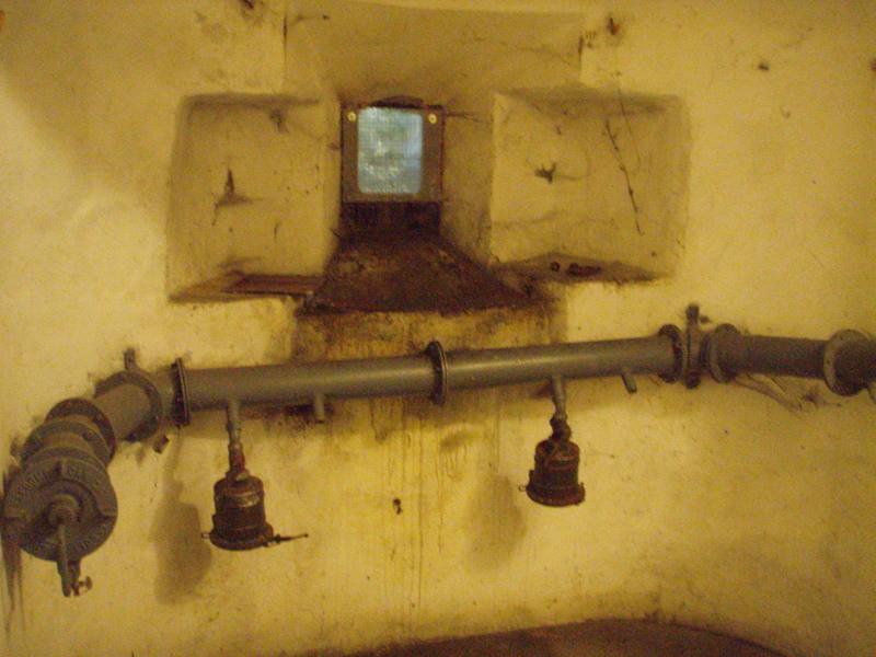 camera n° 1: posto mitragliatrice