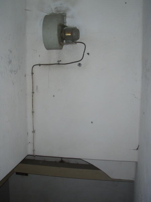 Zusatzlüftung für das Untergeschoss
