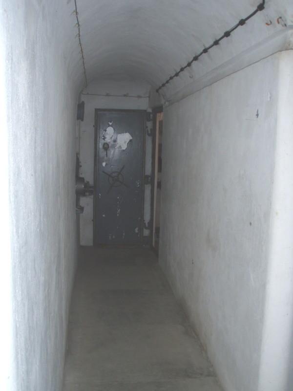 corridoio alla camera n° 4