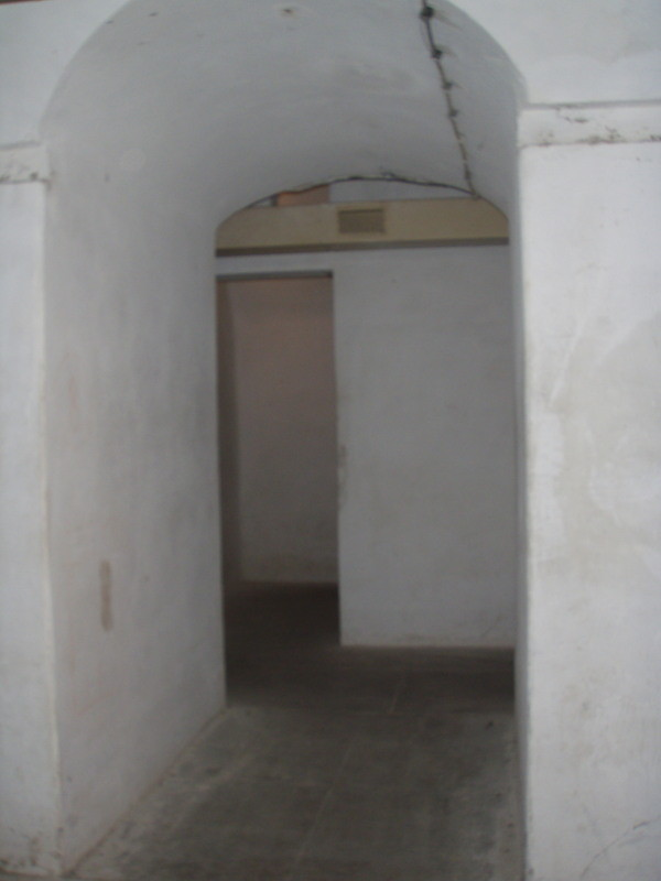 vista dal dormitorio ad un altra stanza (con aerazione originale)