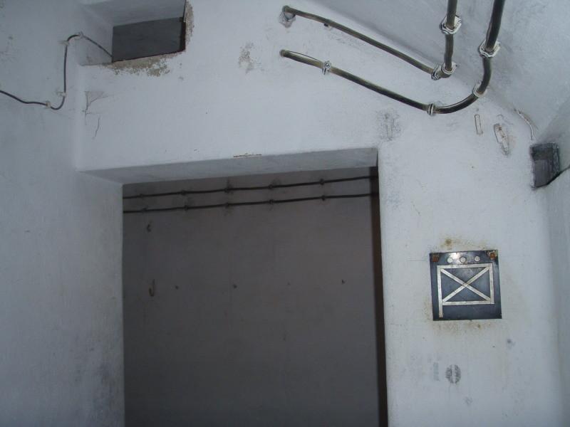 Eingang Kommandoraum