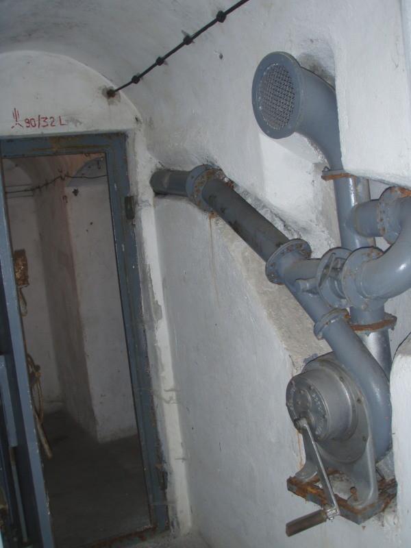 aerazione camera n° 2