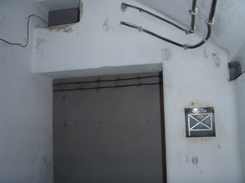 ingresso sala comando