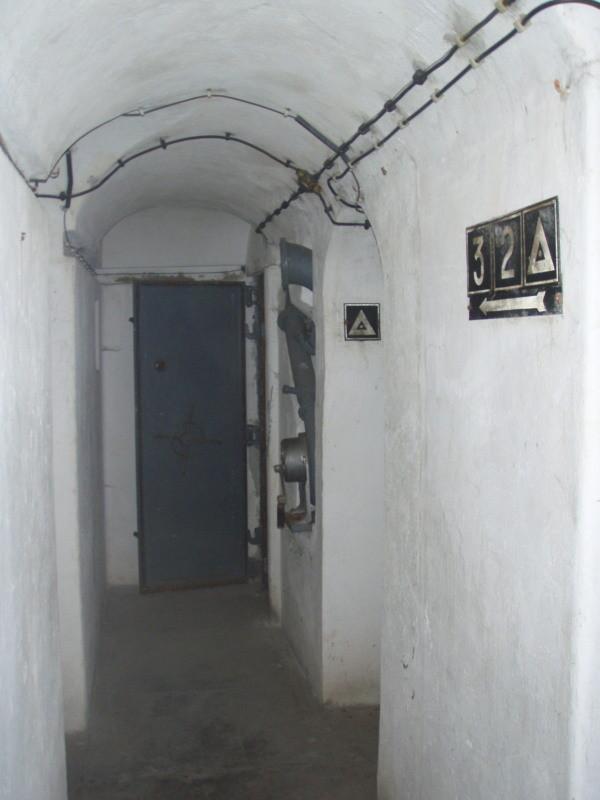 corridoio alla camera 2 e 3 e alla campana d'osservazione
