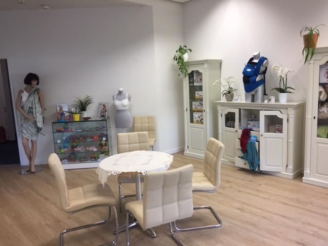 Empfang und Verkauf von Babyartikel