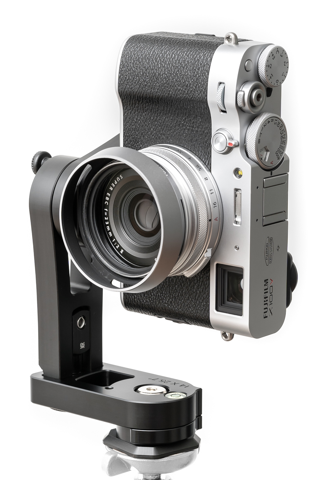 with adapter ring AR-X100 and hood LH-X100