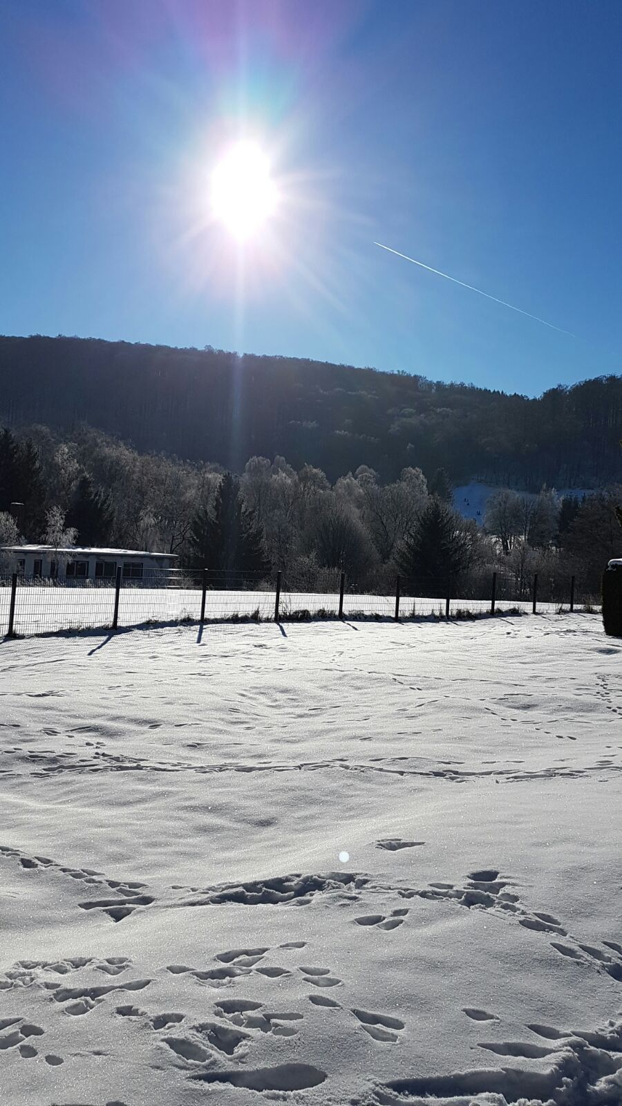 Winterlandschaft in Altenbrak