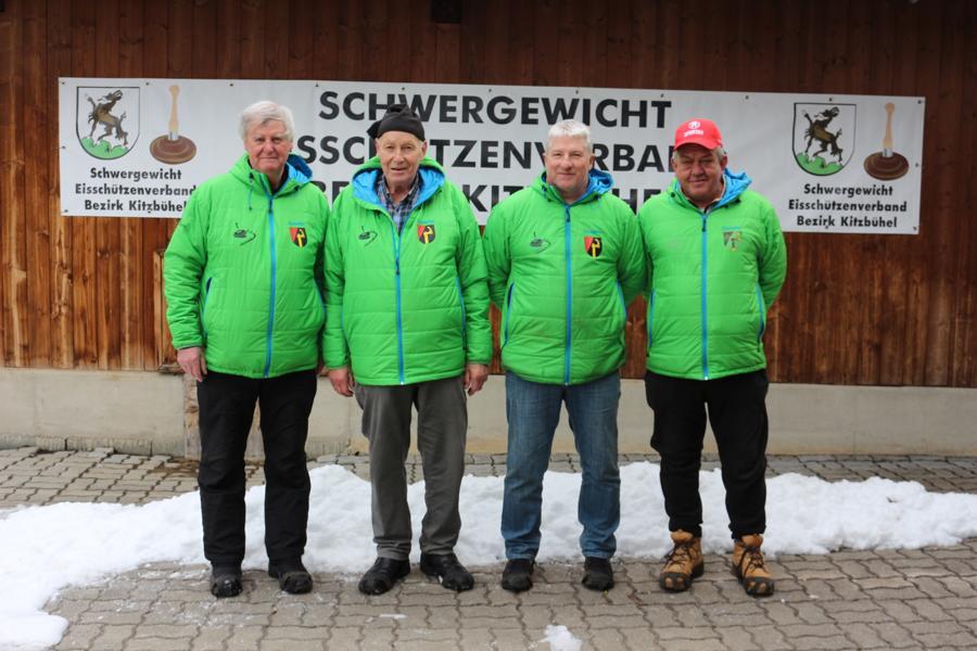 EC Oberndorf I - Leonhard Stöckl, Franz Eibl, Josef Thaler, Franz Singer