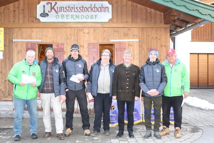 8. Platz - EC Rummlerhof - Schlögl Fritz, Markus Kogler, Andi Aberger,  Jakob Wörgötter