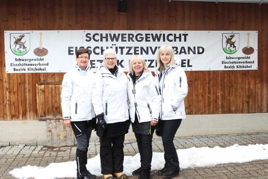 ESC Jochberg - Stina Weiskopf, Vreni Groder, Margareth Landmann, Marianne Luxner