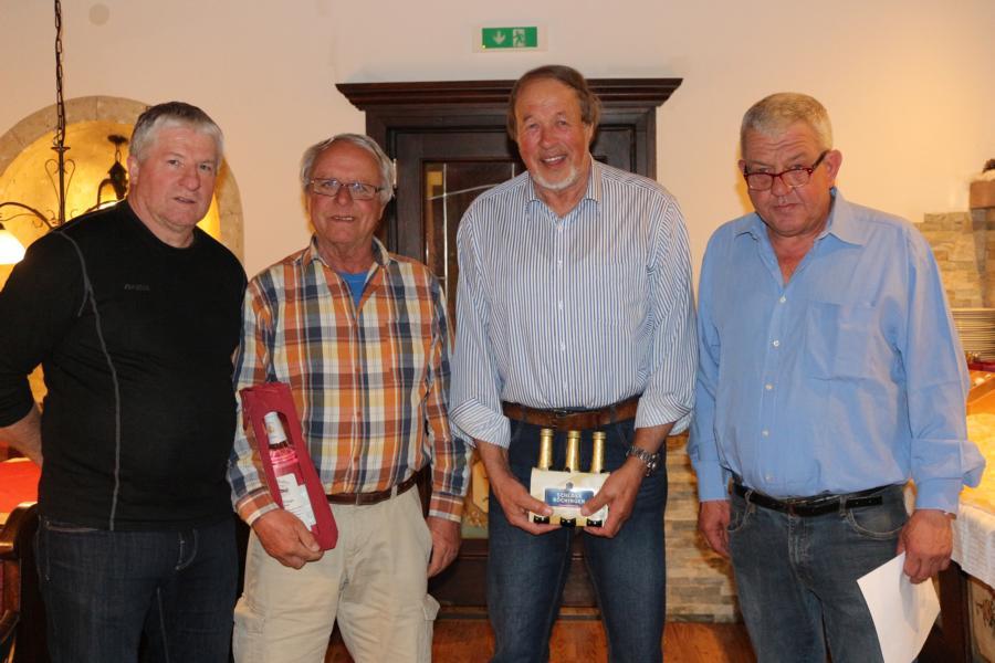 4. Platz: Rudi Volstuben - 5. Platz: Peter Hechenberger