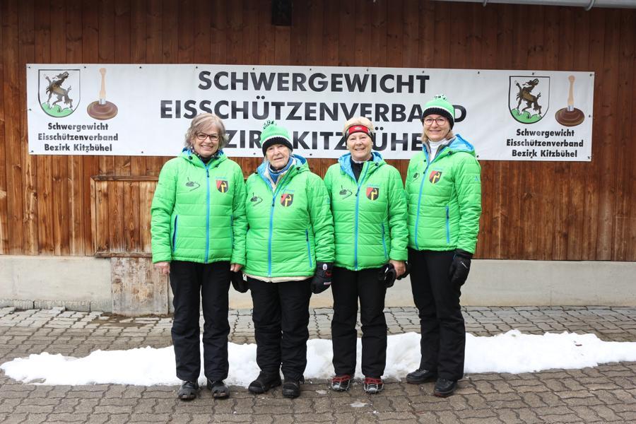 EC Oberndorf II - Emmi Brunner, Monique Kaufmann, Sabine Trabi, Irmi Aschaber,