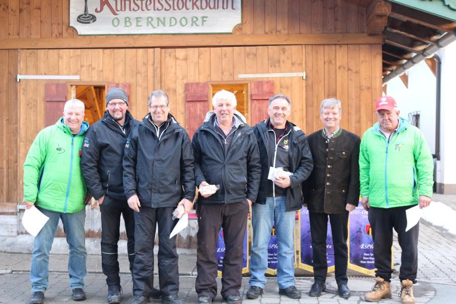 5. Platz - EC Jochberg - Johann Pletzer, Walter Kreidl, Felix Schipflinger, Martin Luxner