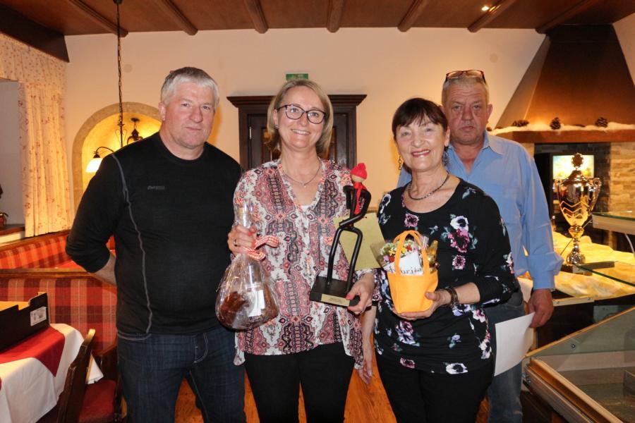 1. Platz: Janet Rosenkranz u. Emmi Brunner