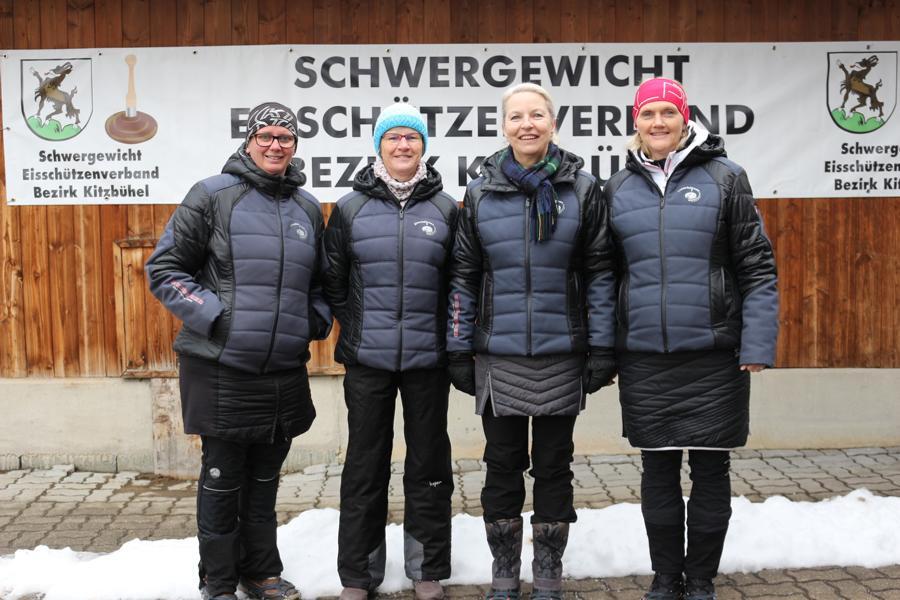 EC Rummlerhof - Martina Kogler, Lisei Lackner, Enrica Casdorf, Betty Berger