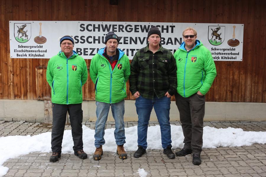 EC Oberndorf II - Rudi Volstuben, Manfred Hörl, Clemens Wibmer, Thomas Wimmer