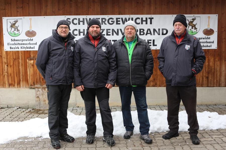 ESV Erpfendorf I - Anton Inwinkl, Hermann Resinger, Michael Nothegger, Horst Müller