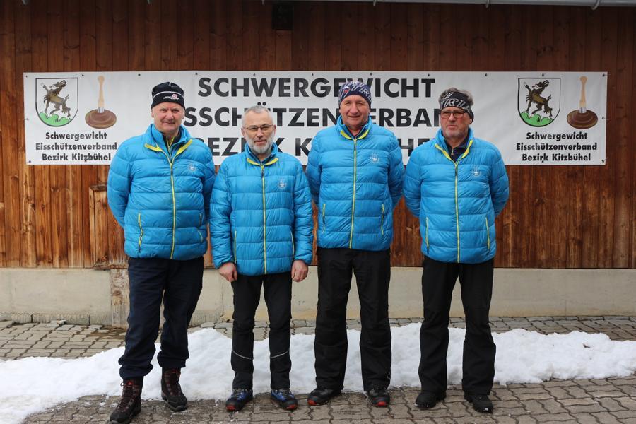 EV Fieberbrunn I - Franz Gschnaller, Wolfgang Baumann, Hans Payr, Josef Foidl