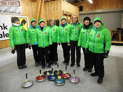 Das erfolgreiche Damenteam