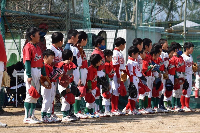 練習試合VS広島西(マイナー)