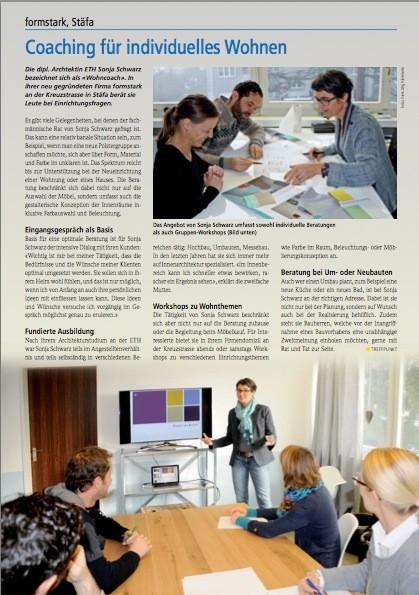 Artikel im Treffpunkt Magazin, Ausgabe 1/2014