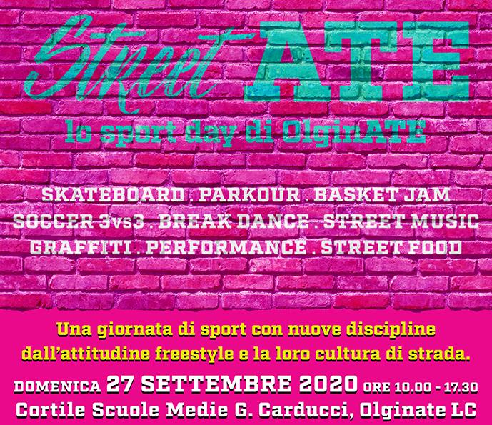 OPEN DAY Hip Hop Domenica 27 Settembre, Scuole medie di Olginate