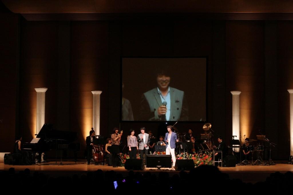 「王と私」主演のオ・マンソクさんの朗読と、主題歌を歌われたチョ・グァヌさん、夢の饗宴!!