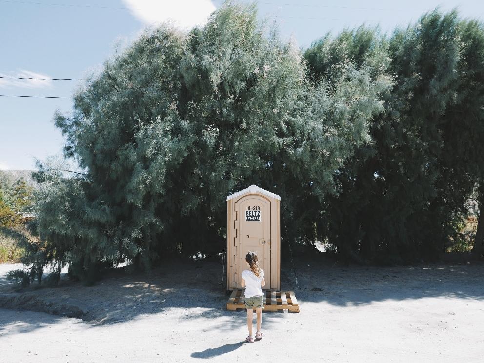En voyage, je trouve même le fait d'aller aux toilettes photogéniques...🤗
