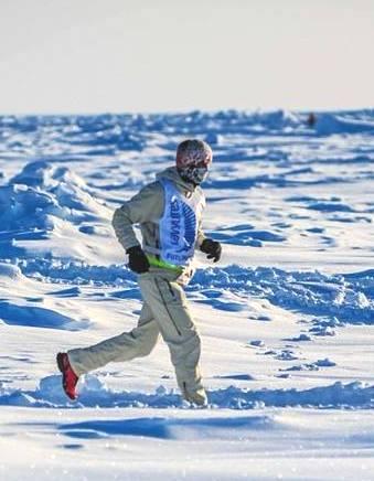 Foto: Alexander Rüdiger, North Pole  Marathon 2018