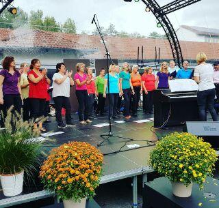 Unser Auftritt beim Schuljubiläum 2017 der Freiherr-vom-Stein-Schule Immenhausen