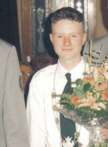 Schützenkönig 1997: Sebastian Leipold