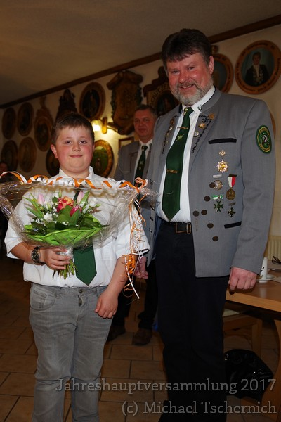 Unser neues Mitglied: Joel Fischer (9 Jahre!)